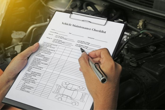 Cars Maintenance Checklist