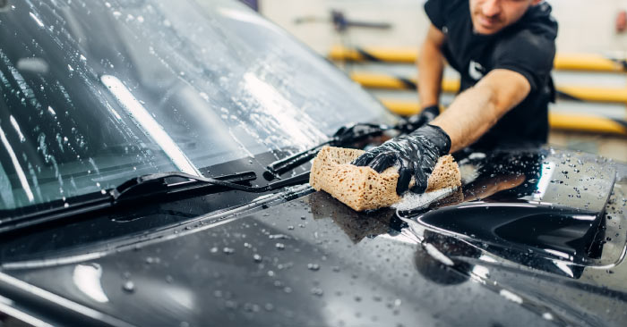 Wash a car without scratching - Car Wash Tips