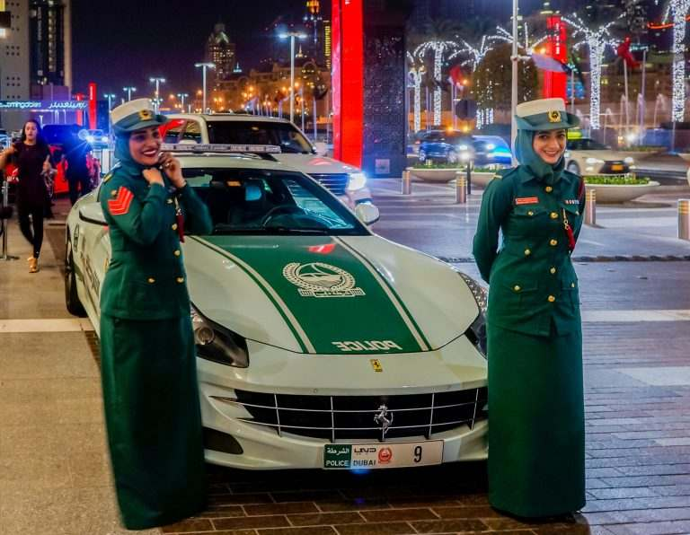 Women power in Dubai police force