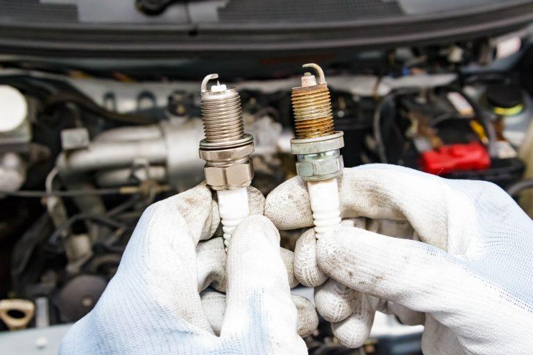 Old Car Spark Plug