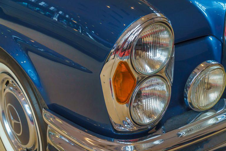 Vintage Car Head Light