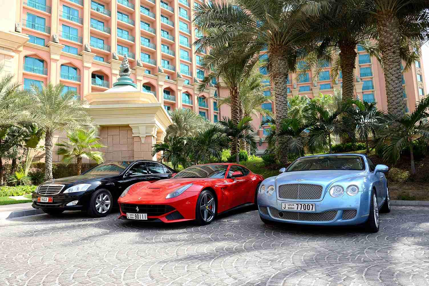 top 5 car UAE