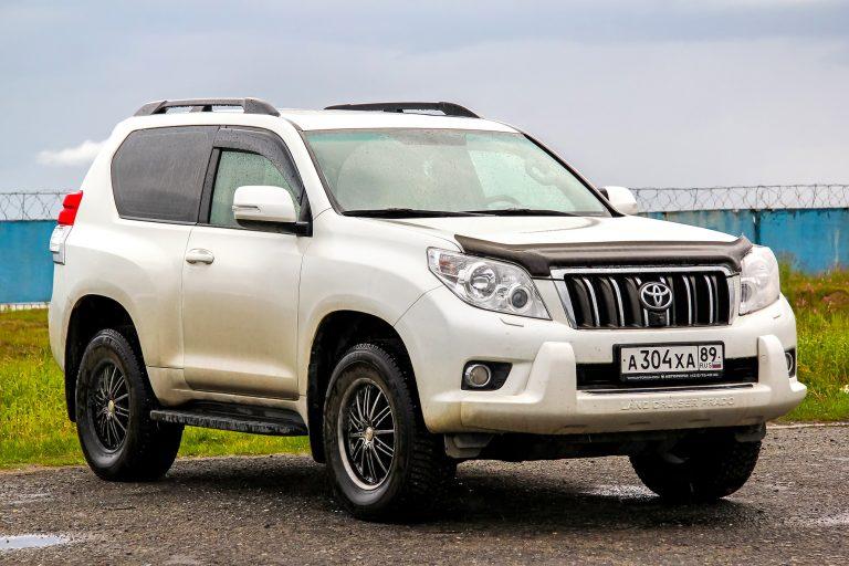 top 5 cars in dubai uae - toyota suv