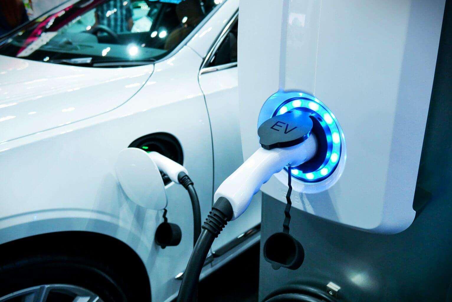 Electric car in Dubai UAE