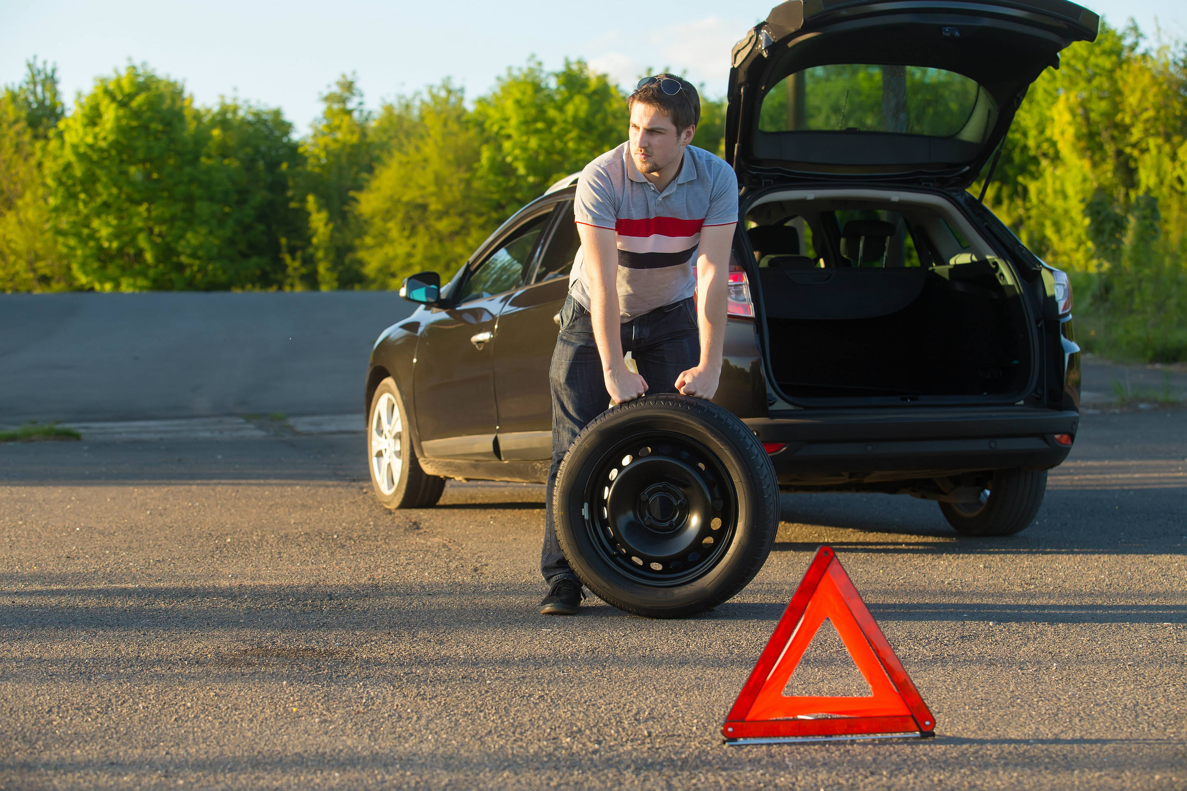 flat tyre tips