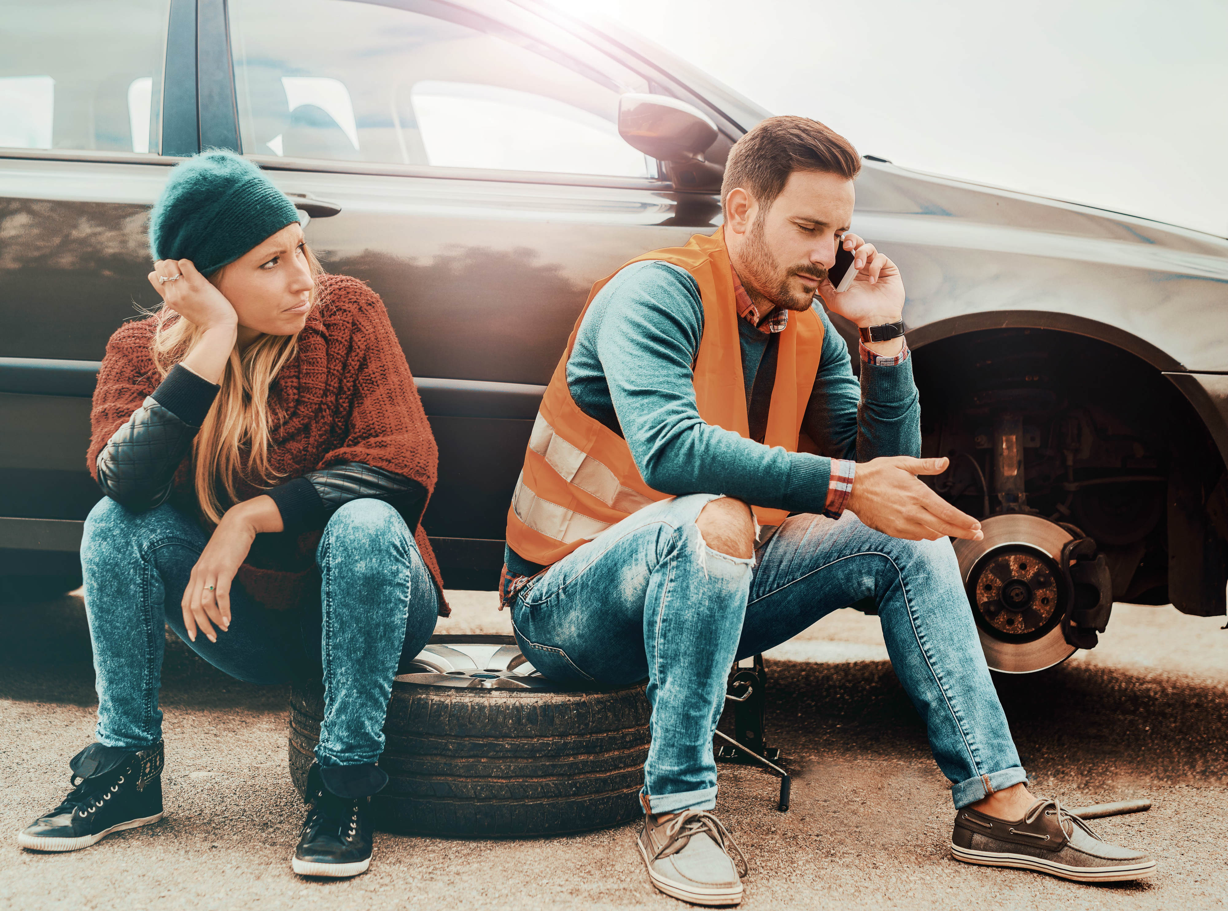 Carcility Image- Flat Tyre 3