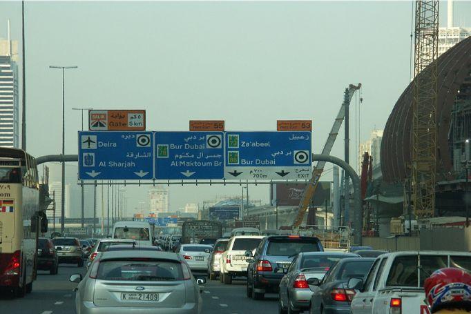 Car Driving Rules Dubai