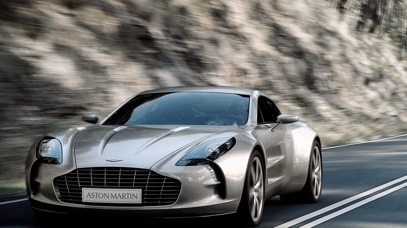 Aston Martin One 77 Supercar