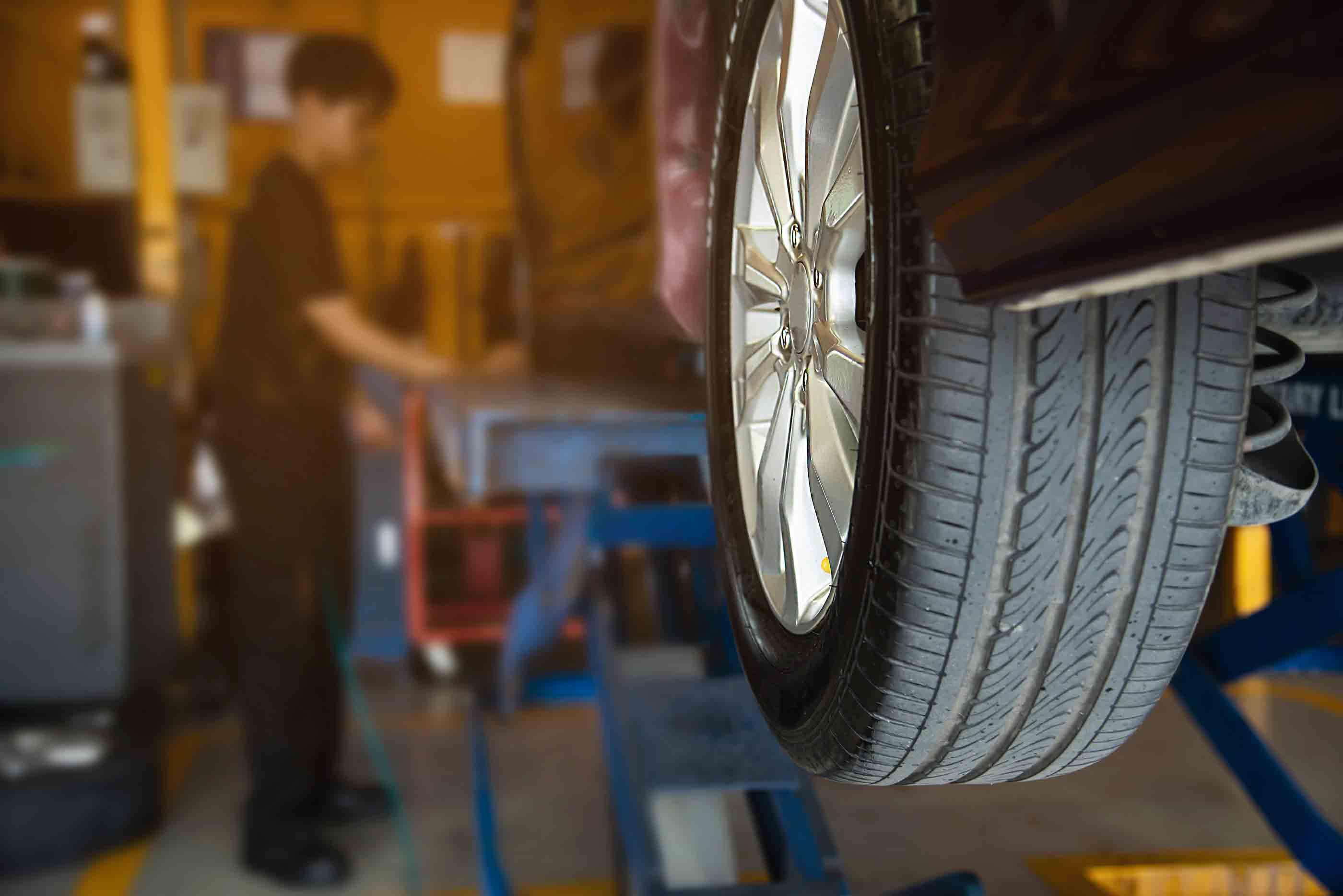 Car tyres fix