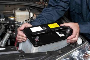 Changing car battery