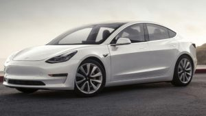 Tesla Model 3 electric car