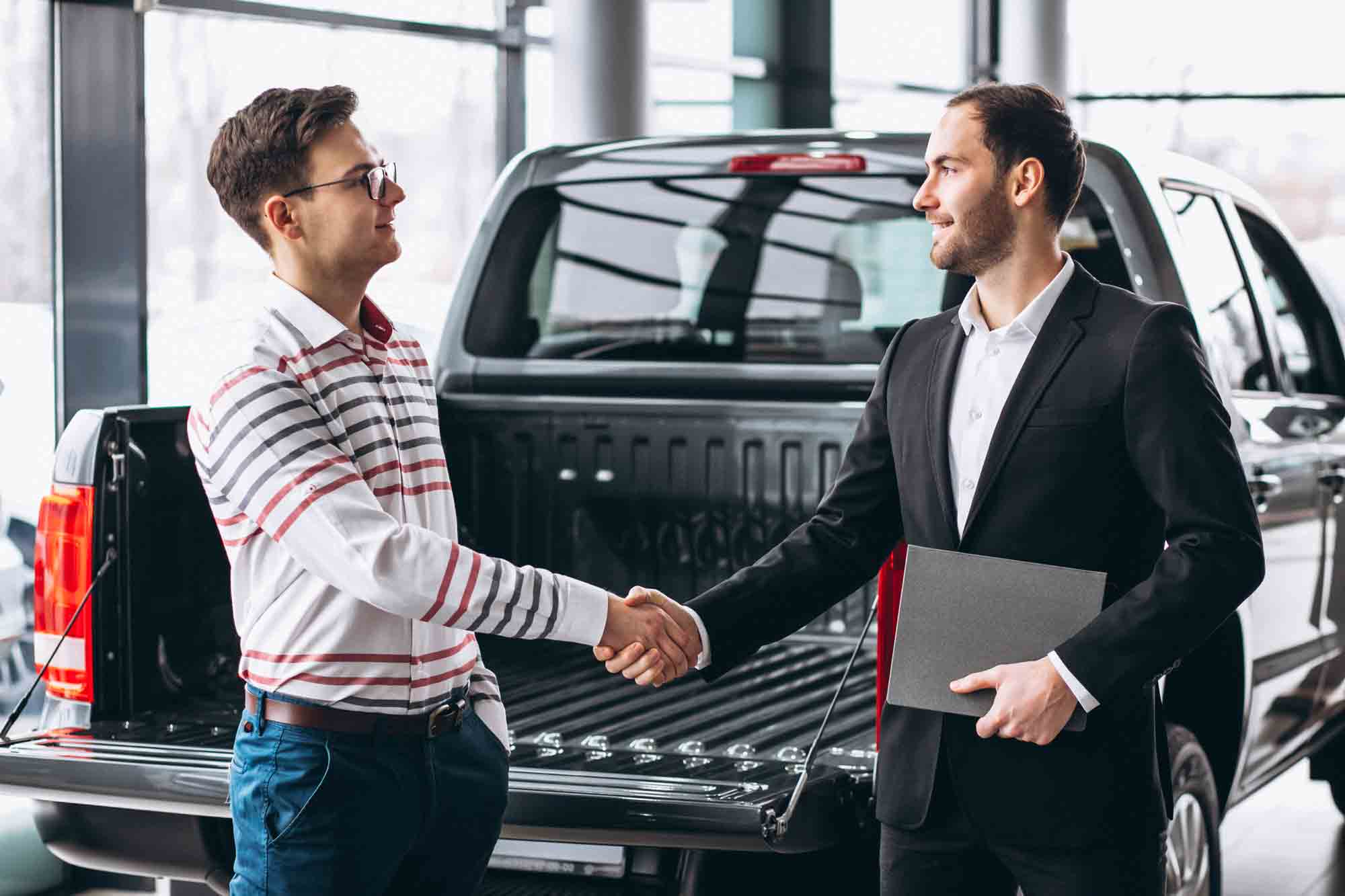 Buying a new car in Dubai