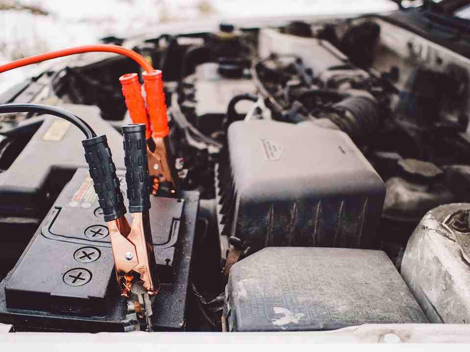 Quick car battery change