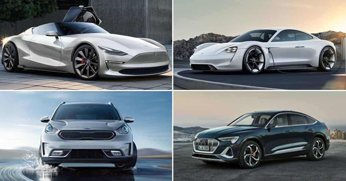 Best electric cars for 2020