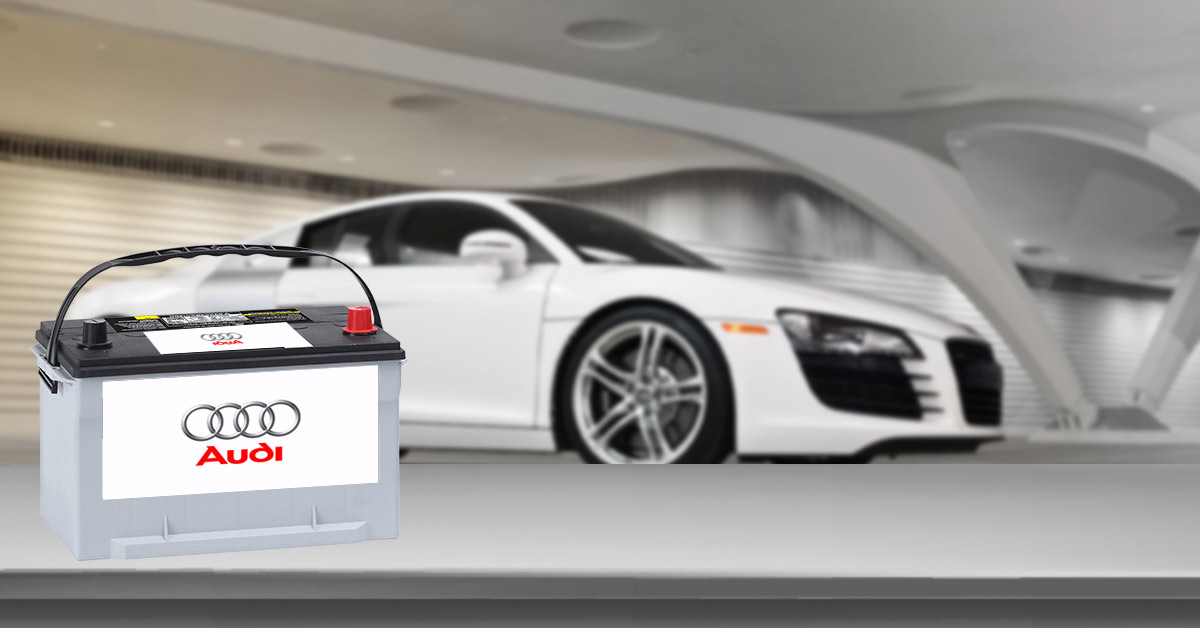 Audi car battery replacement