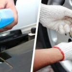 Checking car fluids and tire pressure