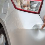 Common car dent