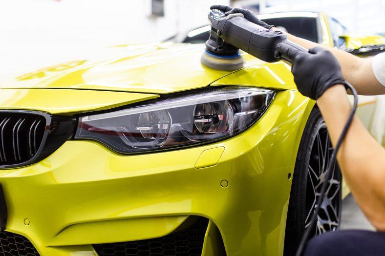 Car oil change service