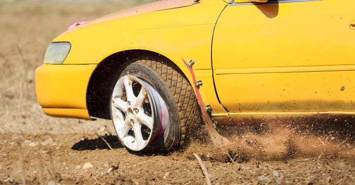 Avoid tire blowouts