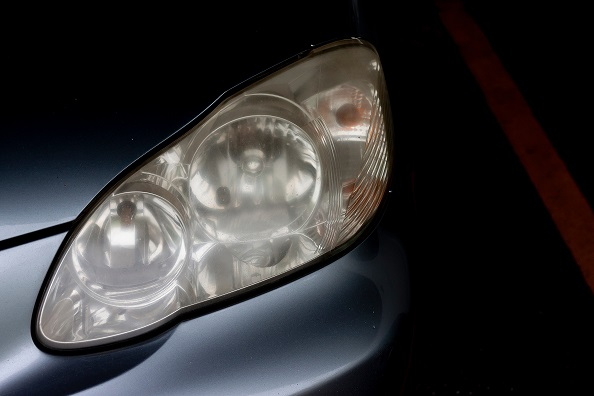 How to Clean the Cloudy Headlights of your Car!
